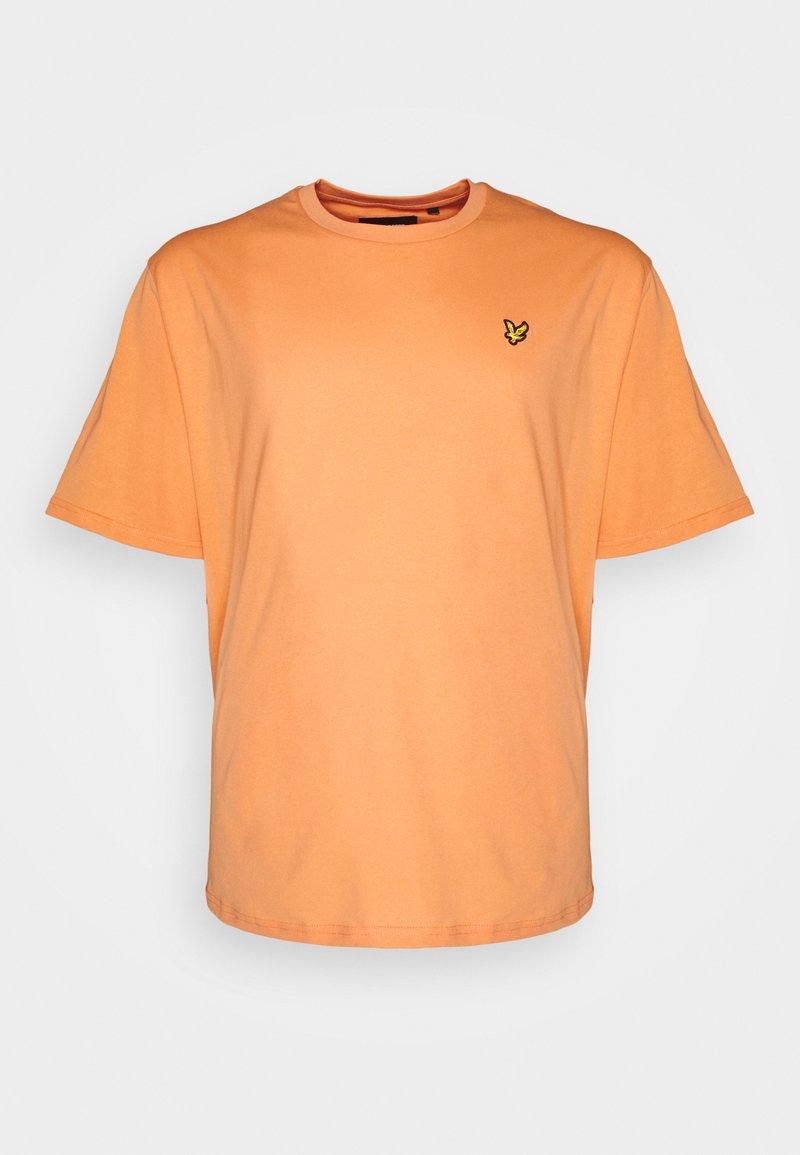 Lyle & Scott - PLAIN - T-shirt - bas - melon