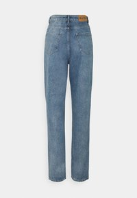 NA-KD Tall - SIDE SLIT - Jeans relaxed fit - blue - 1
