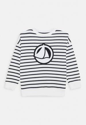 LOUFOQUE UNISEX - Sweatshirt - marshmallow/smoking