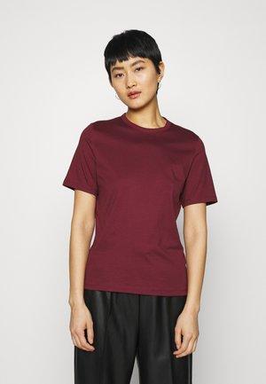 OLEA - T-shirt basic - bordeaux