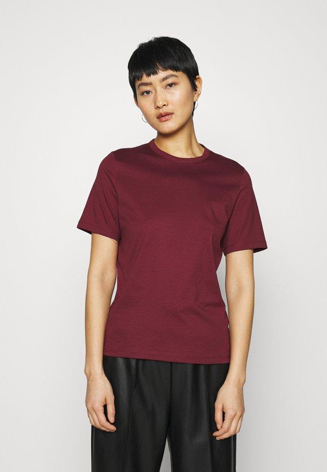 OLEA - Jednoduché triko - bordeaux