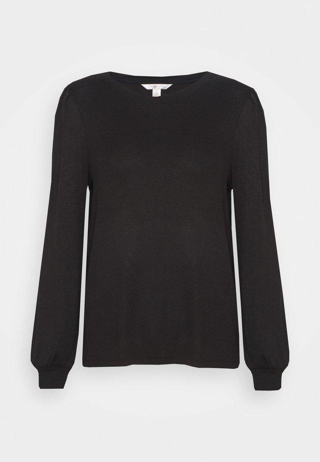 COZY CREW - Stickad tröja - black