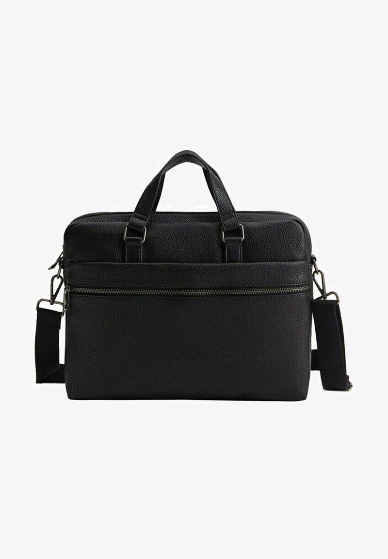 Mango - GRAIN - Briefcase - schwarz