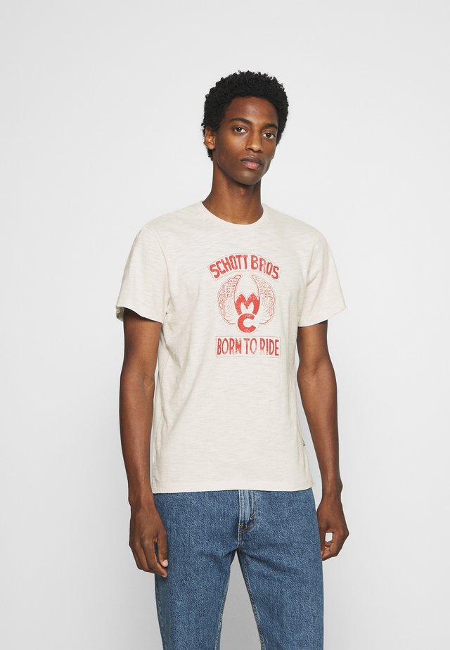 JOEY - Print T-shirt - offwhite