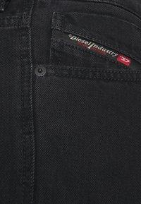 Diesel - Džíny Slim Fit - black denim - 2