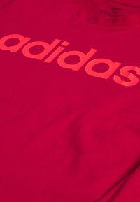 adidas Performance - Camiseta estampada - power pink/signal pink - 3