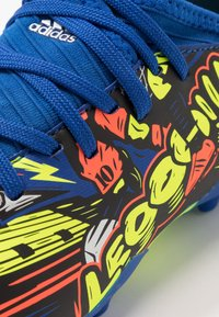 adidas Performance - NEMEZIZ MESSI 19.3 FG - Moulded stud football boots - royal blue/silver metallic/solar yellow - 2
