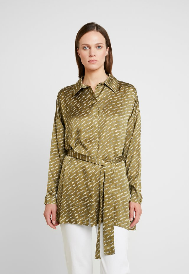 PATRYCE - Button-down blouse - army