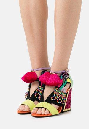AYA - Sandaler med høye hæler - pride aya/multibrights