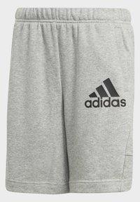 adidas Performance - BADGE OF SPORT SHORTS - Sports shorts - grey - 2