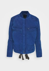 UTILITY BOMBER WMN - Denim jacket - deep true blue