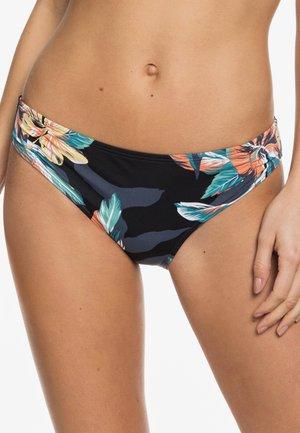 ROXY™ PRINTED BEACH CLASSICS - VOLLES BIKINIUNTERTEIL FÜR FRAUEN - Bikini bottoms - anthracite