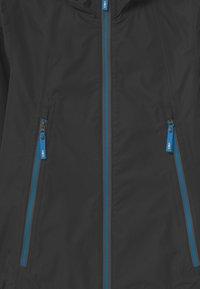 CMP - KID FIX HOOD - Waterproof jacket - antracite - 2