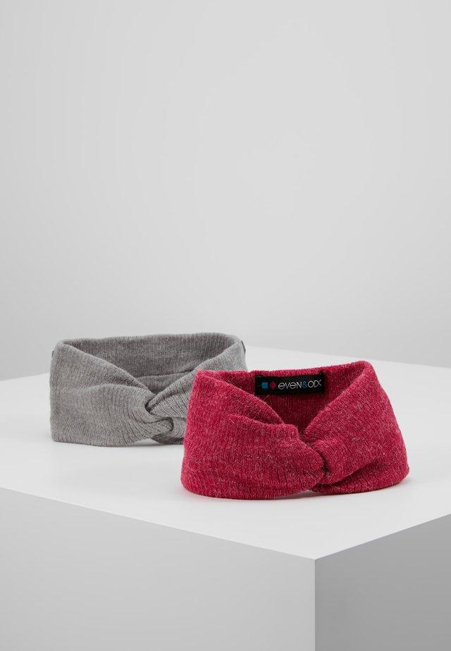 2 PACK - Panta/korvaläpät - pink/grey
