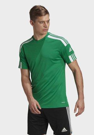 SQUADRA 21 TRIKOT - T-shirt z nadrukiem - green