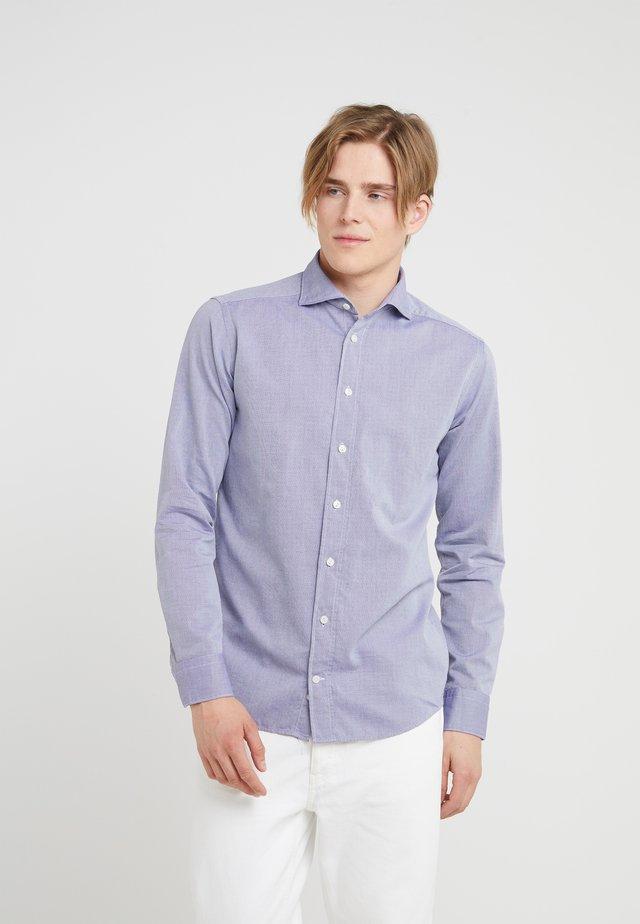 SLIM FIT - Camicia elegante - bleu plain