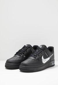 Nike Sportswear - AIR FORCE 1 - Sneakersy niskie - black/white - 2