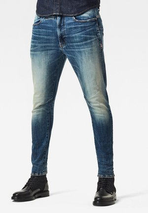 Slim fit jeans - antic faded baum blue