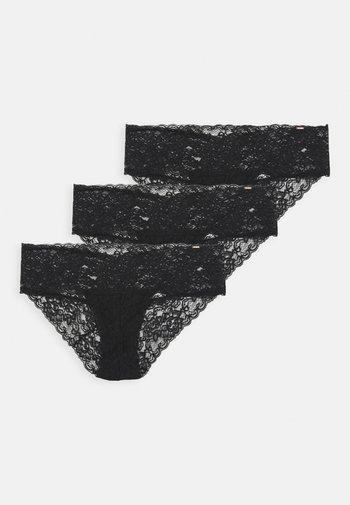 LANA 3 PACK - Briefs - black