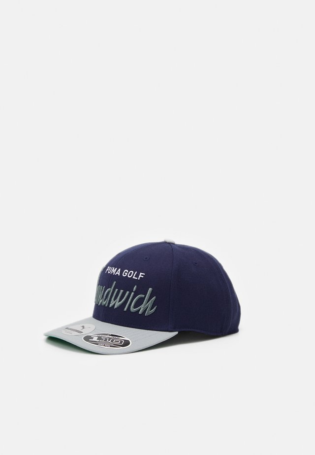 SANDWICH CITY SNAPBACK - Gorra - peacoat