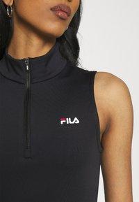 Fila - CEARA TIGHT DRESS - Pouzdrové šaty - black - 4