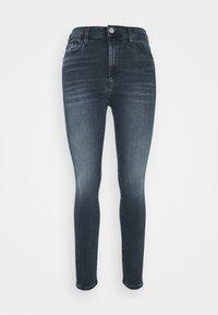 Tommy Jeans - SYLVIA SKNY ABBS - Jeans Skinny Fit - blue-black denim - 4