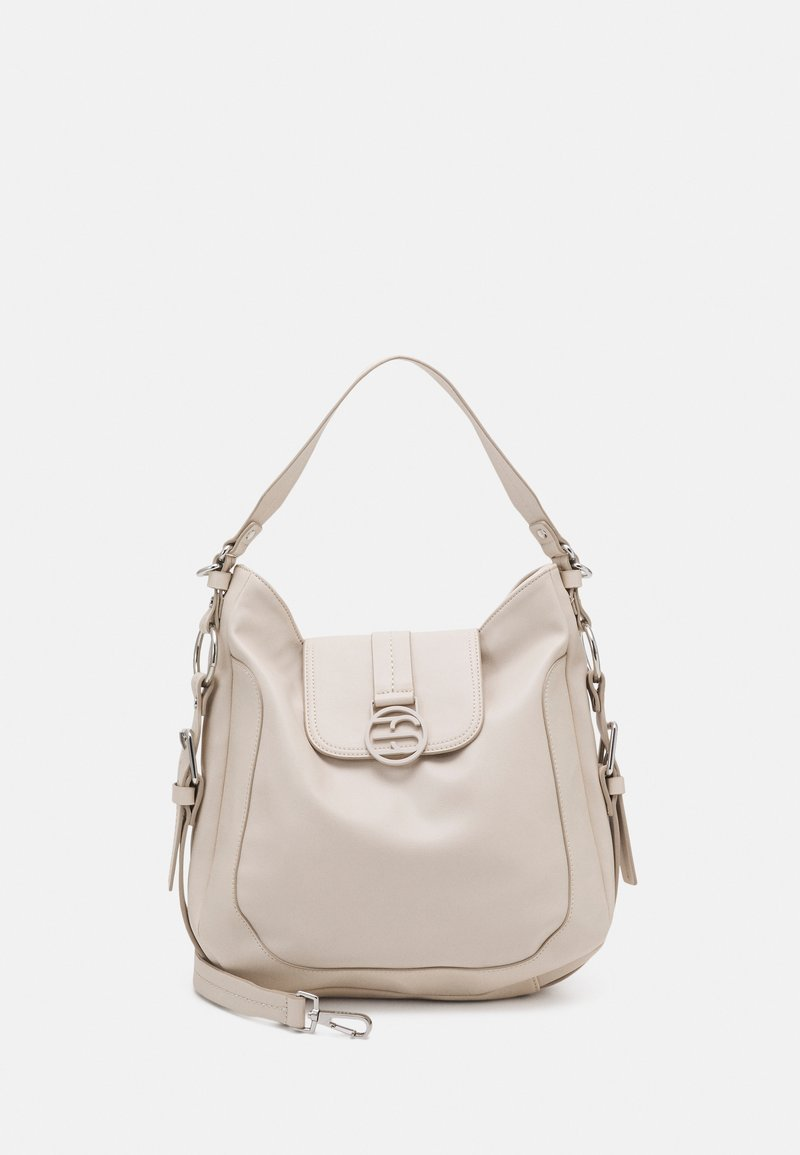 Esprit - HALLIET HOBO - Handbag - off-white