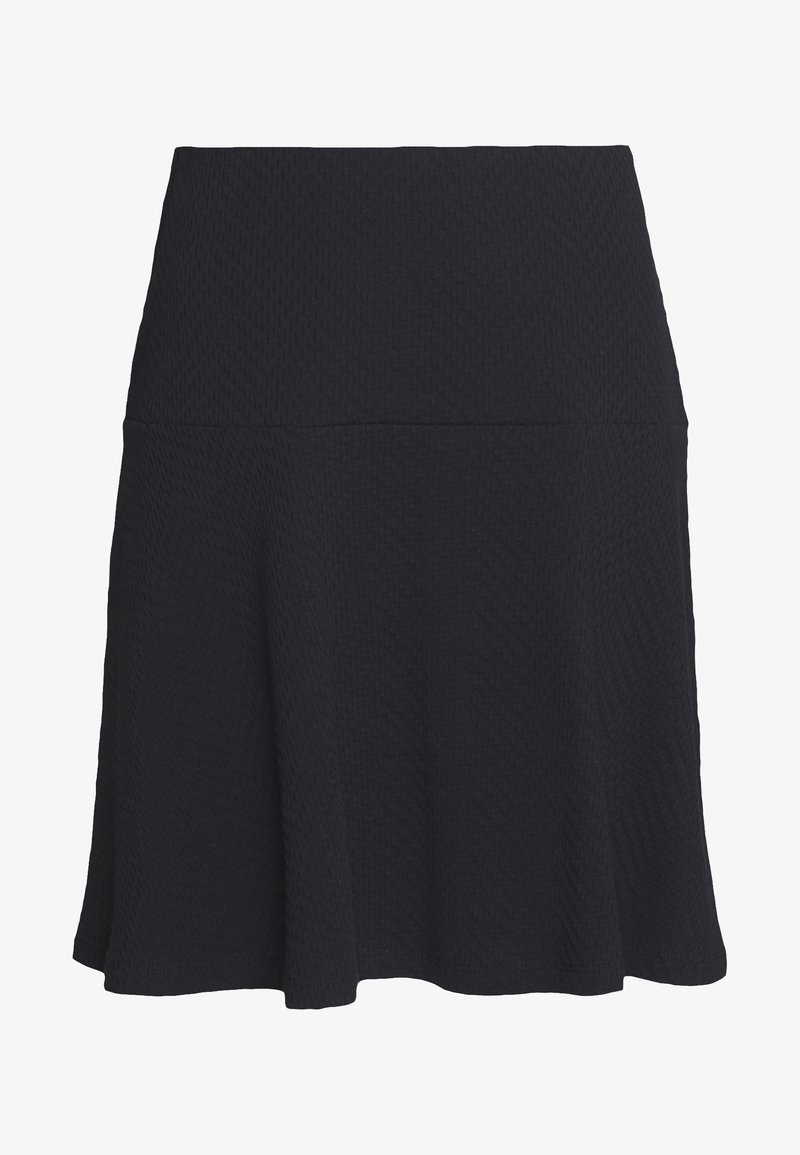 Esprit - SKIRT - A-line skirt - black
