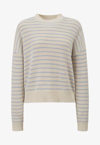 SIENNA - Jumper - white/blue stripe