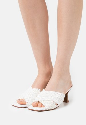 ANA - Heeled mules - white
