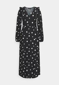 Dorothy Perkins - FOCHETTE MIDI SPOT - Jumper dress - black - 0