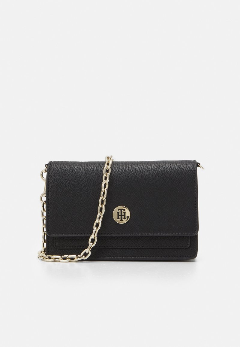 Tommy Hilfiger - HONEY CHAIN CROSSOVER - Borsa a tracolla - black