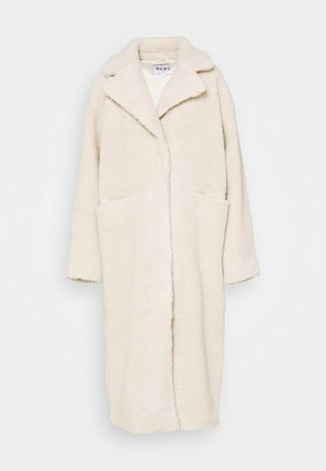 OVERSIZED LONG COAT - Zimní kabát - light beige