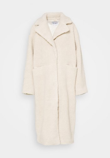 OVERSIZED LONG COAT - Winter coat - light beige