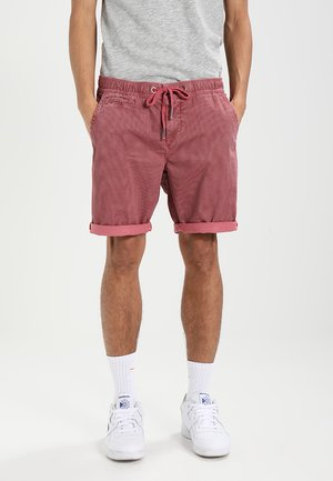 SUNSCORCHED - Shortsit - washed pink hounds tooth