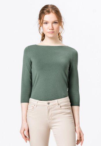 Long sleeved top - seegrün