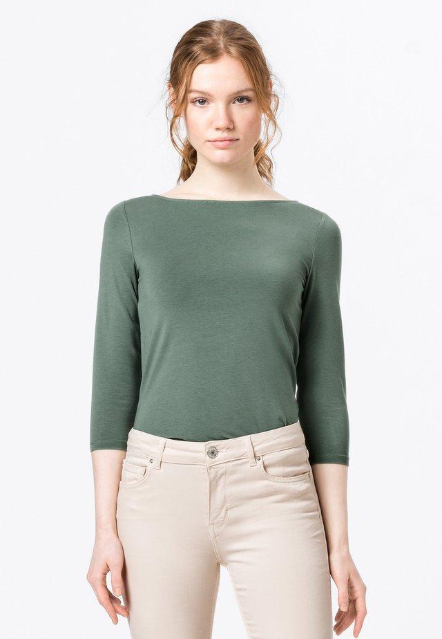 Longsleeve - seegrün