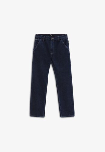 MN DRILL CHORE RELAXED DENIM PANT - Relaxed fit jeans - midnight rinse