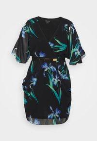 City Chic - DRESS WRAP - Robe d'été - winter iris - 3