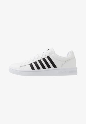 COURT WINSTON - Sneakers basse - white/black