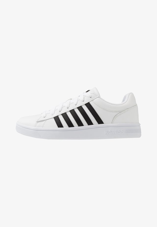 COURT WINSTON - Zapatillas - white/black