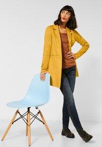 Street One - Classic coat - gelb - 2