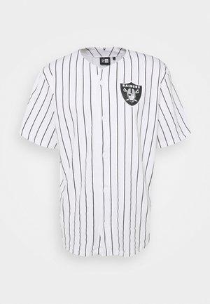 NFL LAS VEGAS RAIDERS BASEBALL - Klubové oblečení - white