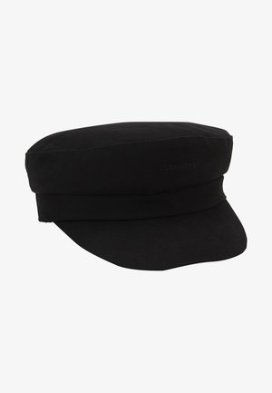 EMBROIDERY LOGO BAKER HAT - Hat - black
