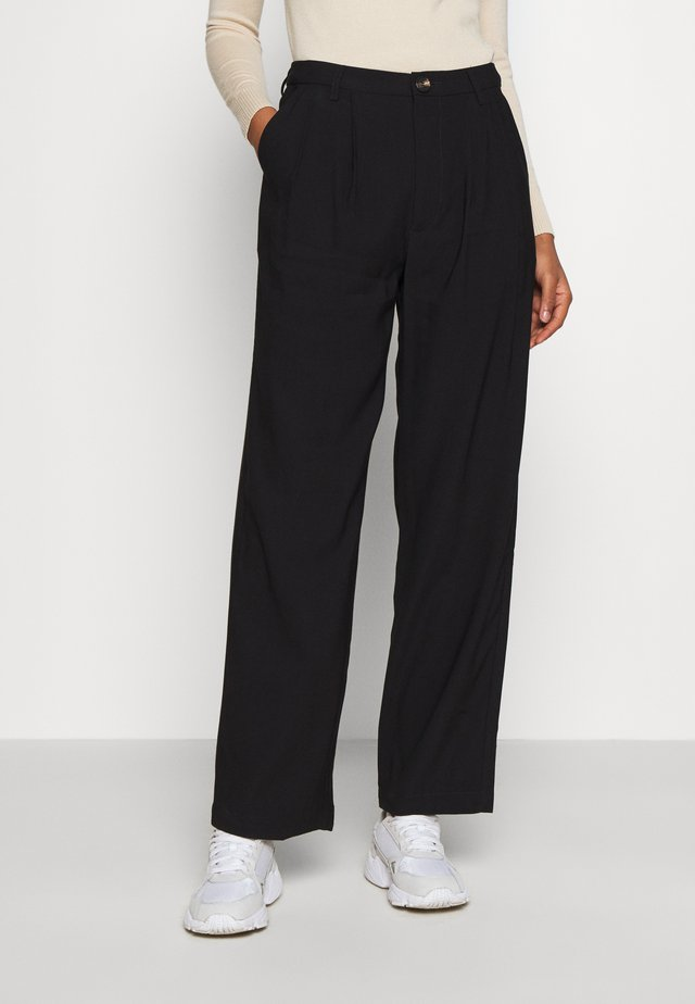 NIMMA PANTS - Trousers - black