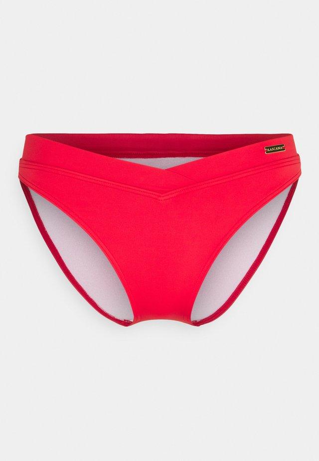 Spodní díl bikin - red