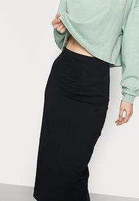 Even&Odd Tall - 2 PACK - Pencil skirt - dark blue/black - 5