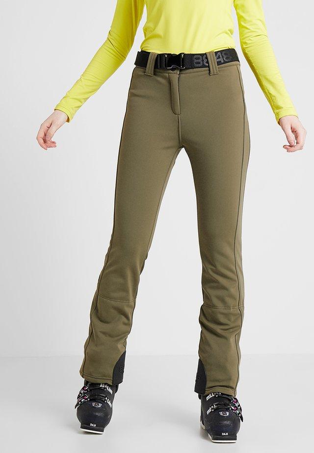SLIM PANT - Pantalon de ski - turtle
