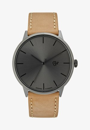 KHORSHID - Watch - gun metal/funky brown