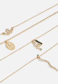 Pieces - PCAKELEJE COMBI NECKLACE - Smykke - gold-coloured - 2